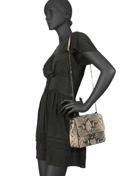 Shoulder Bag Python Milano Brown python PI180602 other view 1