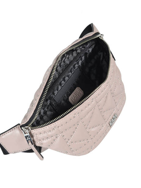 Fanny Pack K/kuilted Karl lagerfeld Pink karl kuilted 86KW3072 other view 4