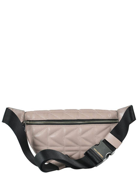 Fanny Pack K/kuilted Karl lagerfeld Pink karl kuilted 86KW3072 other view 3