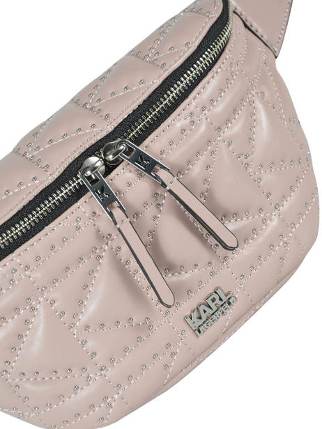 Fanny Pack K/kuilted Karl lagerfeld Pink karl kuilted 86KW3072 other view 1