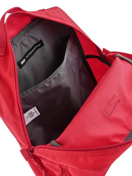 Sac à Dos 1 Compartiment + Pc 15'' Levi's Rouge l pack 230870 vue secondaire 4
