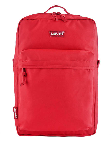 Sac à Dos 1 Compartiment + Pc 15'' Levi's Rouge l pack 230870