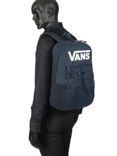 Sac A Dos 1 Compartiment + Pc 15'' Vans Bleu backpack men VN0A3HCB vue secondaire 2