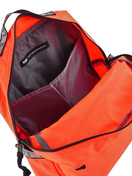 Sac à Dos 1 Compartiment + Pc 15'' Levi's Orange l pack 230809 vue secondaire 4