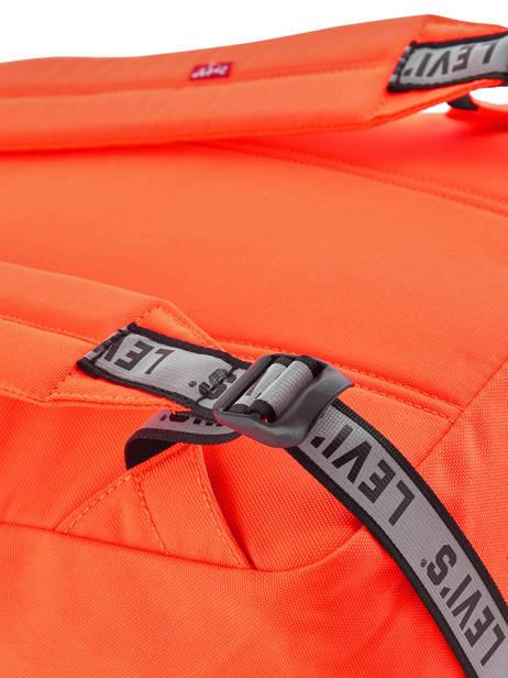Sac à Dos 1 Compartiment + Pc 15'' Levi's Orange l pack 230809 vue secondaire 1