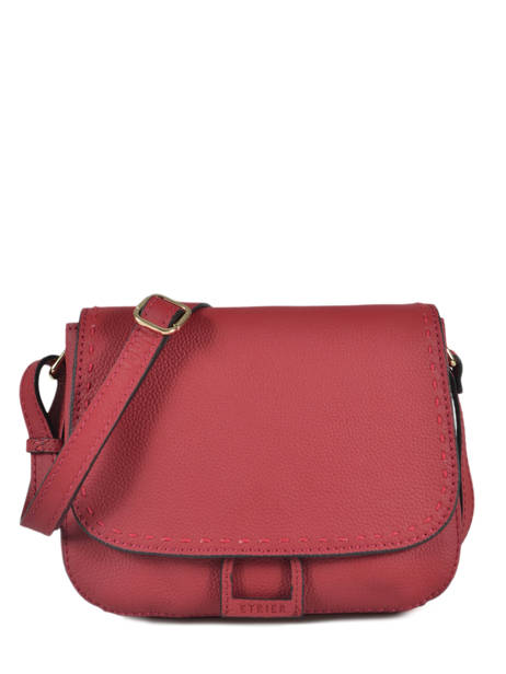 Sac Bandoulière Tradition Cuir Etrier Rouge tradition EHER23