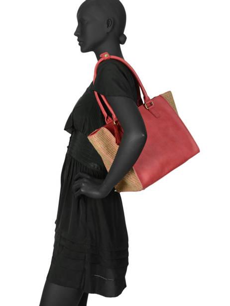 Shoulder Bag Abelia Woomen Red abelia WABEL05 other view 2