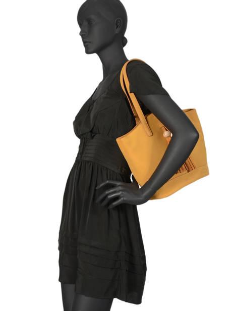 Sac Shopping Iris Woomen Beige iris WIRIS05 vue secondaire 2