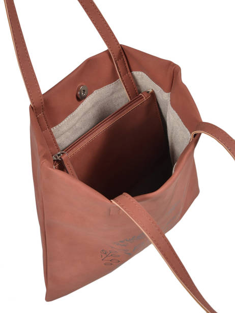Sac Shopping Lilas Woomen Beige lilas WLILA01 vue secondaire 3