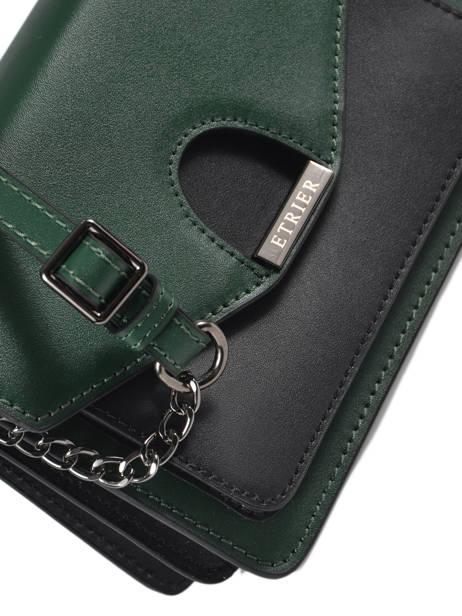 Sac Porté Main Escarpe Cuir Etrier Vert escarpe EESC01 vue secondaire 1