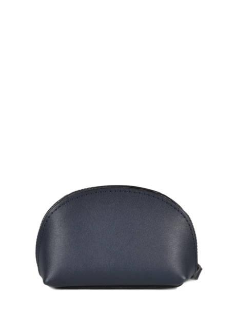 Leather Escarpe Purse Etrier Blue escarpe EESC92 other view 2