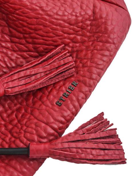 Medium Bucket Bag Wellington Leather Etrier Black wellington EWEL01 other view 1