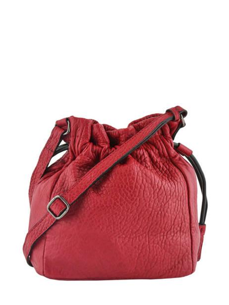Medium Bucket Bag Wellington Leather Etrier Black wellington EWEL01 other view 4