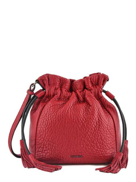 Medium Bucket Bag Wellington Leather Etrier Black wellington EWEL01