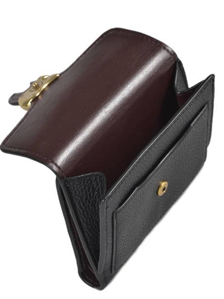 Porte-monnaie Tabby Cuir Coach Noir tabby 76527 vue secondaire 1