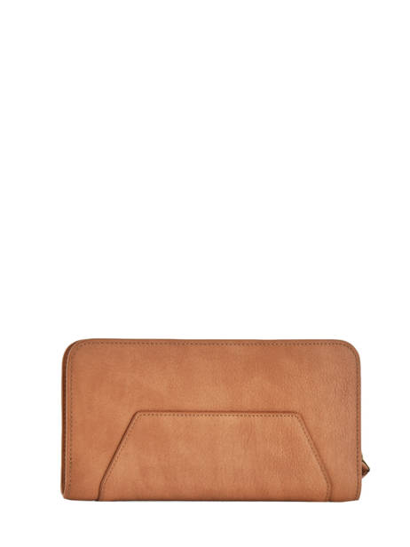 Wallet Woomen Brown orchidee WORCH91 other view 1