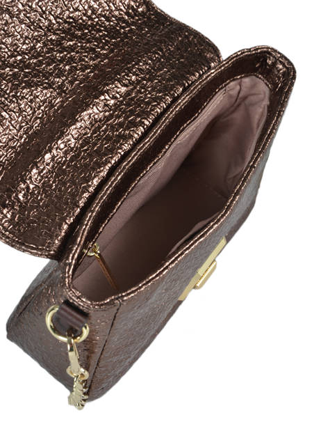 Sac Bandoulière Actual Tweed Lame Lancaster Noir actual tweed lame 519-37 vue secondaire 4