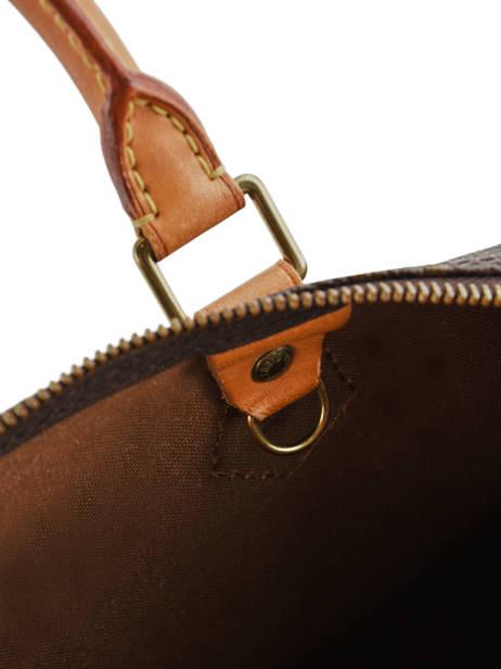 Preloved Louis Vuitton Handbag Speedy 35 Monogram Brand connection Brown louis vuitton 276 other view 3
