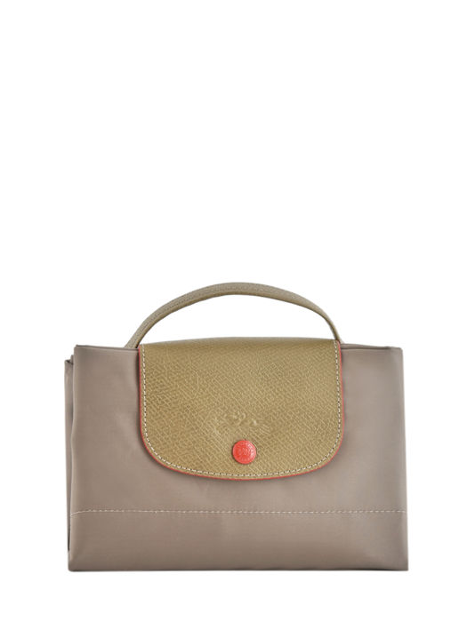 Longchamp Le pliage club Briefcase Beige