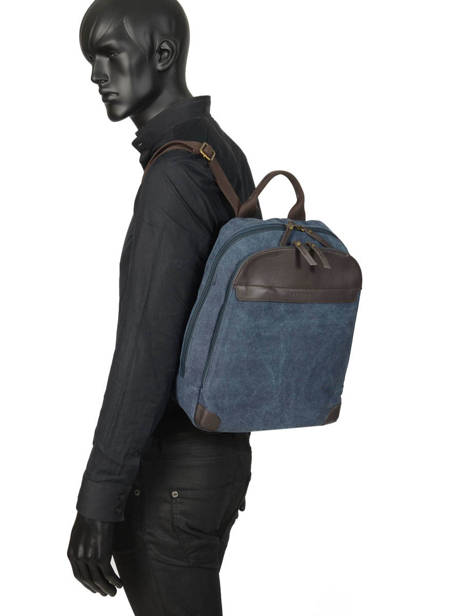 Backpack Harbor 2 Compartments Etrier Blue harbor EHAR04 other view 2