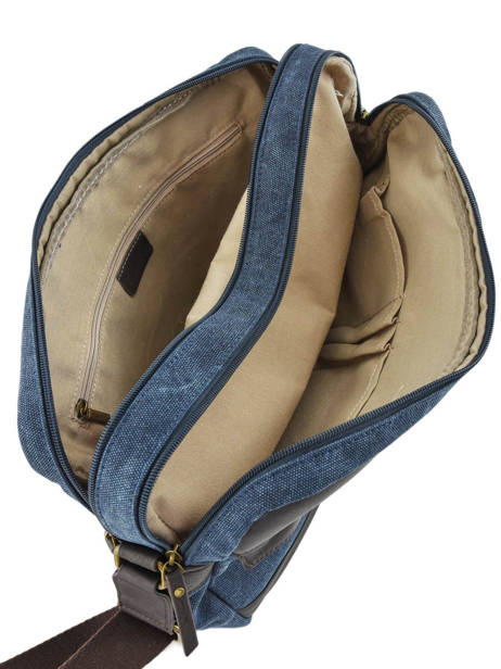 Messenger Bag Harbor 2 Compartments Etrier Blue harbor EHAR05 other view 4