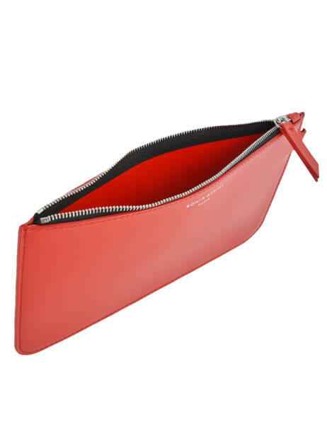 Leather Pouch Le Baltard Sonia rykiel Red baltard 9417-45 other view 4