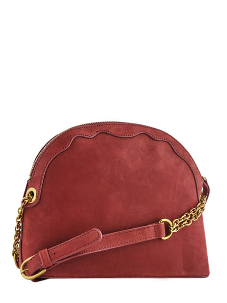 Crossbody Bag Juliet Leather Nat et nin Red vintage JULIET other view 3