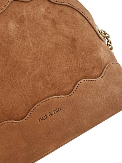 Crossbody Bag Juliet Leather Nat et nin Brown vintage JULIET other view 1