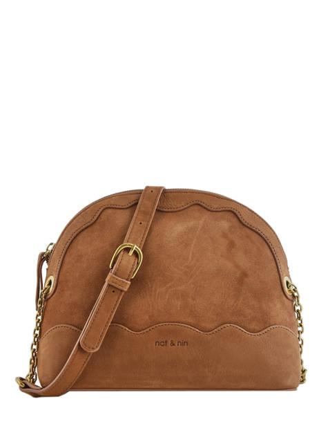 Crossbody Bag Juliet Leather Nat et nin Brown vintage JULIET
