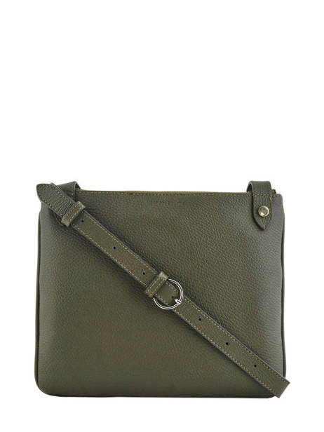 Crossbody Bag Polo Leather Nathan baume Green n city N1811107 other view 3