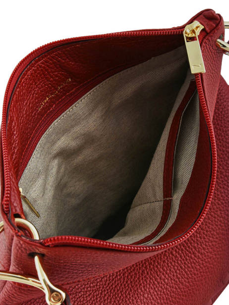 Crossbody Bag Tiki Mini Leather Nathan baume Red victoria N1910586 other view 4