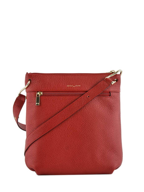 Crossbody Bag Tiki Mini Leather Nathan baume Red victoria N1910586 other view 3