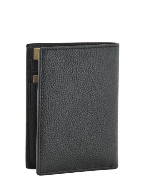 Wallet Leather Le tanneur Black charles TCHA3300 other view 1