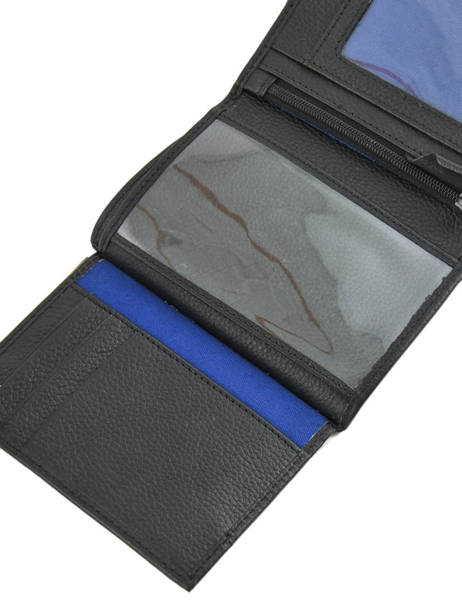 Wallet Leather Le tanneur Black charles TCHA3311 other view 3