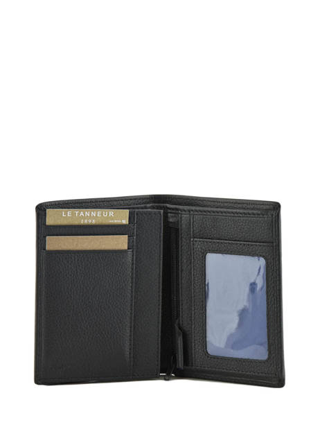 Wallet Leather Le tanneur Black charles TCHA3311 other view 2