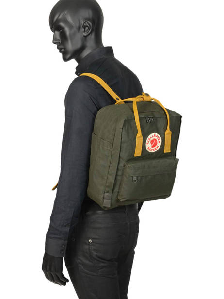 Backpack KÃ¥nken 1 Compartment Fjallraven Black kanken 23510 other view 3