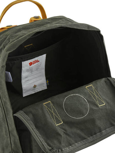 Backpack KÃ¥nken 1 Compartment Fjallraven Black kanken 23510 other view 4