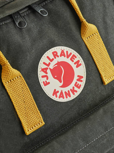 Backpack KÃ¥nken 1 Compartment Fjallraven Black kanken 23510 other view 1