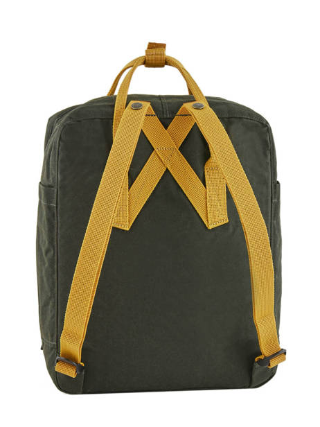 Backpack KÃ¥nken 1 Compartment Fjallraven Black kanken 23510 other view 2