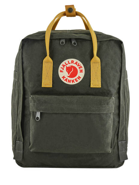 Backpack KÃ¥nken 1 Compartment Fjallraven Black kanken 23510