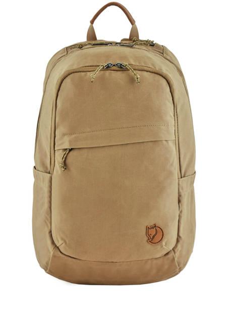 Backpack 1 Compartment + 15'' Pc Fjallraven Beige raven 26051