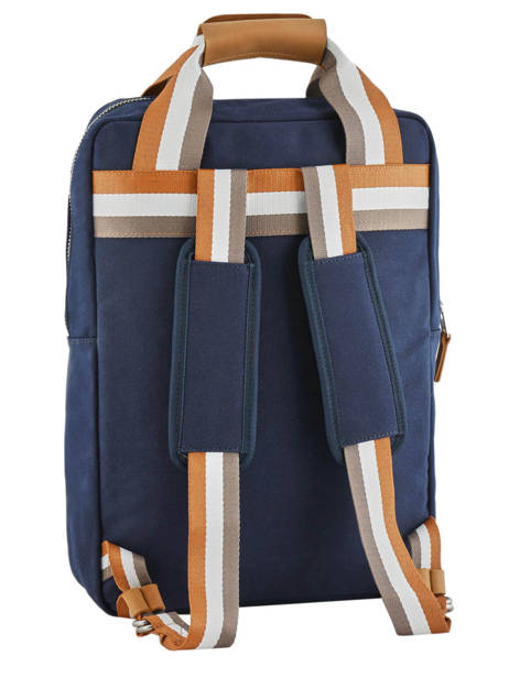 Urban Bag Backpack Cotton Faguo Blue cotton 19LU0149 other view 4