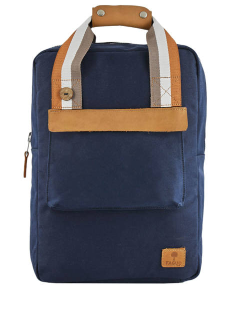 Urban Bag Backpack Cotton Faguo Blue cotton 19LU0149