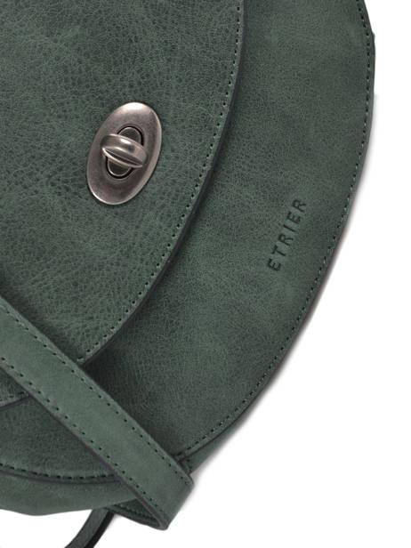 Sac Bandoulière S Casac Cuir Etrier Vert casac ECAS02 vue secondaire 1