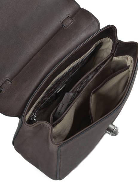 Shoulder Bag Casac Leather Etrier Brown casac ECAS02 other view 4