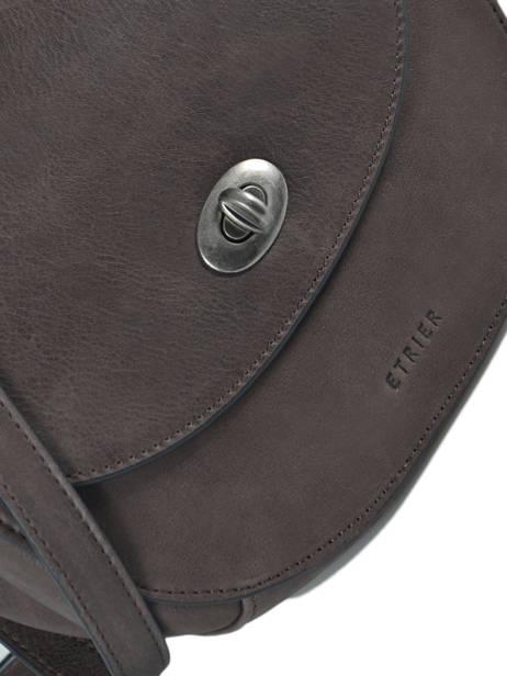 Shoulder Bag Casac Leather Etrier Brown casac ECAS02 other view 1