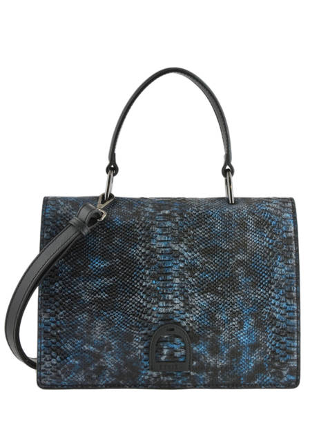 Sac Porté Main Jungle Etrier Bleu jungle EJUP02
