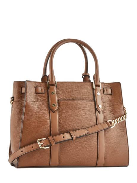 Large Leather Satchel New Hamilton Michael kors Brown nouveau hamilton F9G0HS3L other view 5