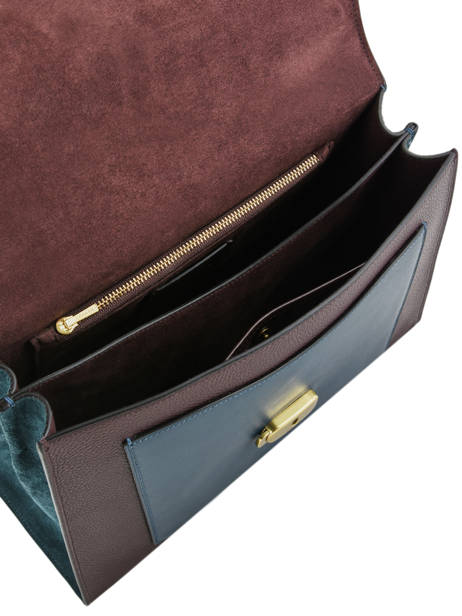 Leather Top-handle Tabby Coach Violet tabby 78343 other view 4
