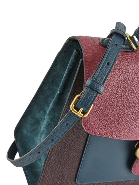 Leather Top-handle Tabby Coach Violet tabby 78343 other view 1